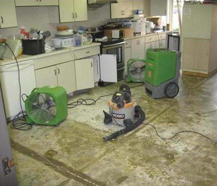 Commercial Water Damage – Buford Before