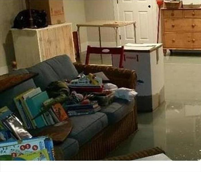 Suwanee Storm Water in a Living Room