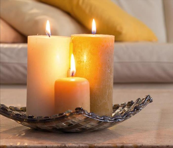 Fire Damage Tips for Using Candles Safely at Home